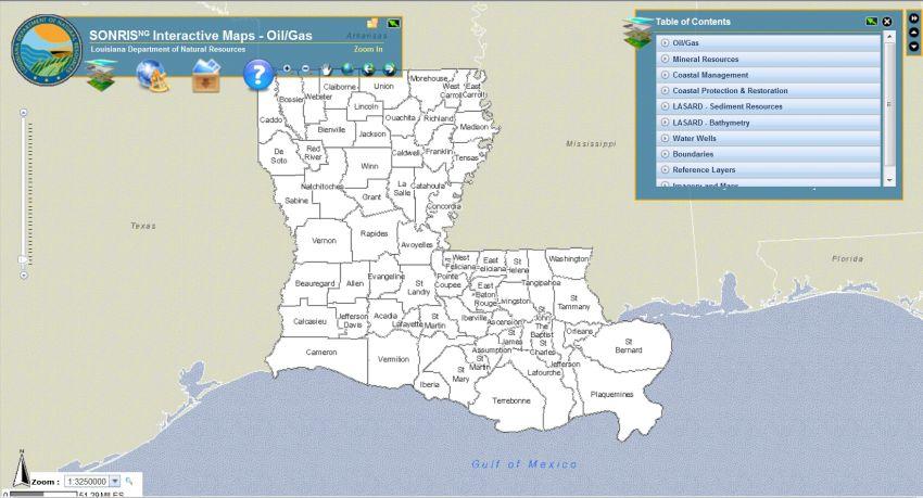 sonris strategic online natural resources information system